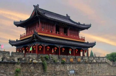 荆州古城宾阳楼